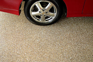 ColorFlake garage floor coating system