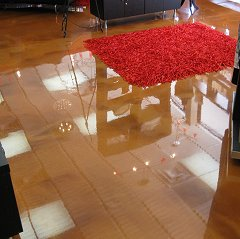 Metallic Epoxy decorative floor coating from Surface Systems of Texas