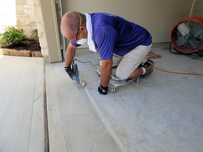 Colorflake Epoxy Concrete Floor Coating