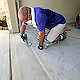 maticulous preperation is key to a long-lasting decorative concrete surface